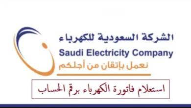 رقم شركة الكهرباء الأعطال