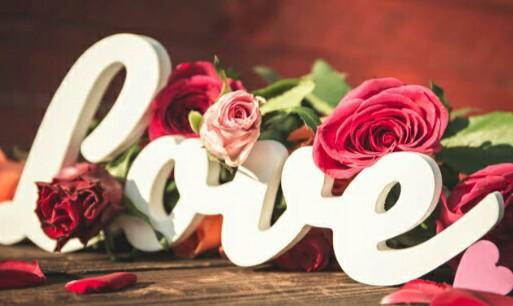 زهور الحب