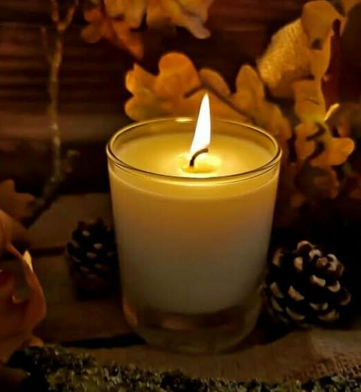 شمع رومانسي
