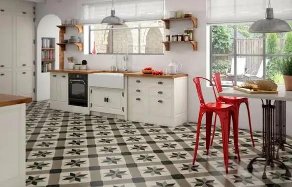 سيراميك مطبخ مربعات