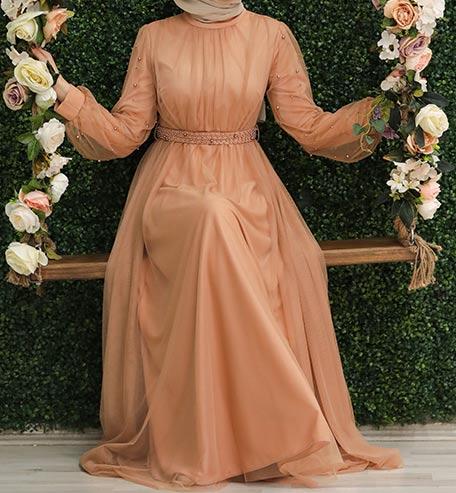 فستان محجبات للخطوبة