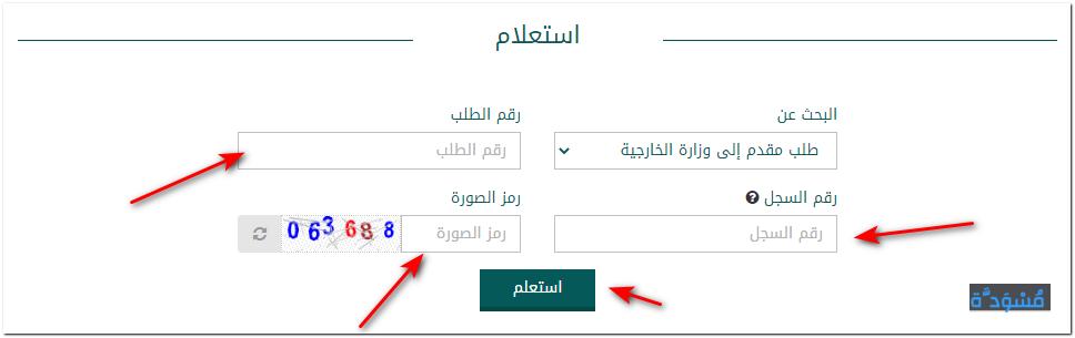 خطوات عمل الزيارة من وزارة الخارجية